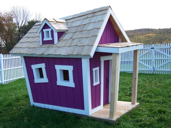 plans building a crooked playhouse